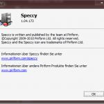 Speccy 1.04.173