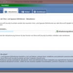 Definitionsupdate für Microsoft Security Essentials – (Definition 1.87.1201.0)