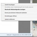 Handy und PC/Notebook unter Windows 7 via Bluetooth verbinden/koppeln