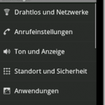 Wie deinstalliert man Apps/Anwendungen unter Android 2.1?
