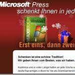 Microsoft Press verschenkt eBooks zu Weihnachten
