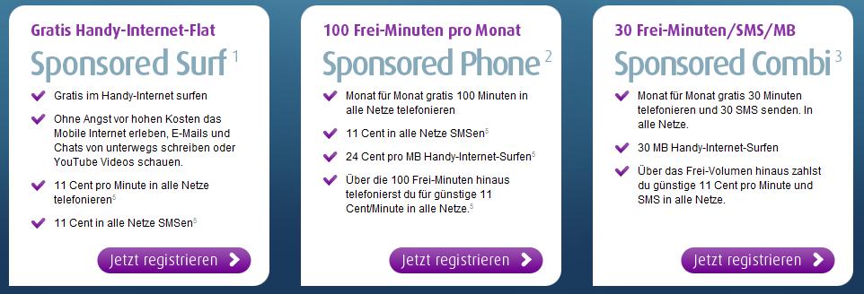 Kostenloses Surfen Und Oder Telefonieren Mit Dem Eigenen Handy
