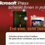 Das 2.Kerzlein ist bei Microsoft Press angezündet worden. Kostenloses eBook abgreifen.