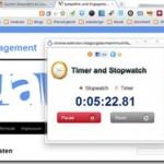 Stoppuhr und Timer für den Chrome Browser