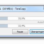 TeraCopy – Kopieren von Dateien unter Windows