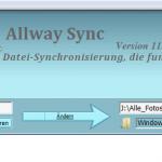 Allway Sync – Synchronisieren von Dateien und Ordnern leicht gemacht