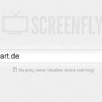 Screenfly – Teste das Aussehen einer Webseite auf verschiedenen Displays/Geräten