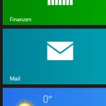 Windows 8 – Wie oder wo kann in der Mail-App ein neues Konto eingerichtet werden?