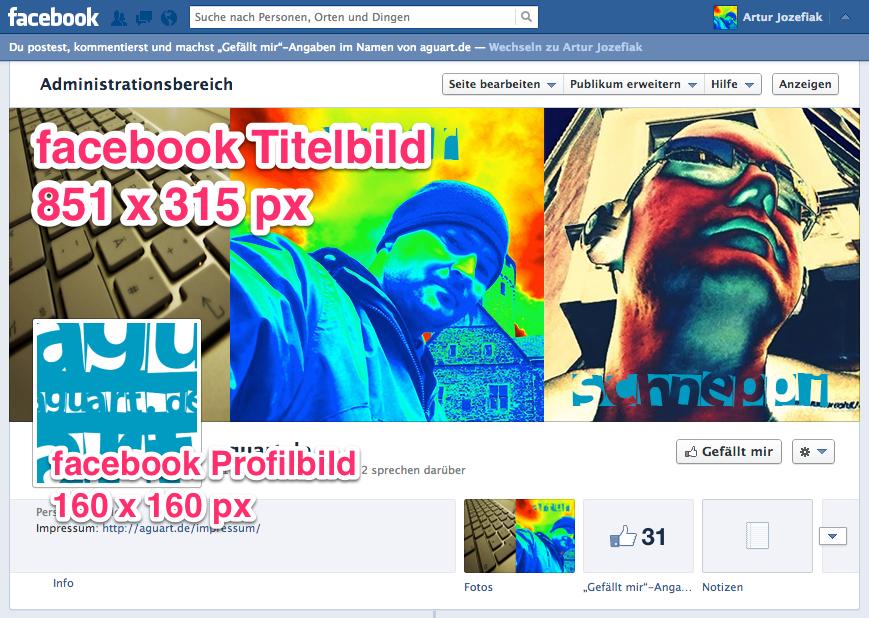 facebookBildgroessen