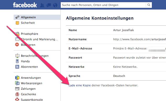 facebookDatenSpeichern02