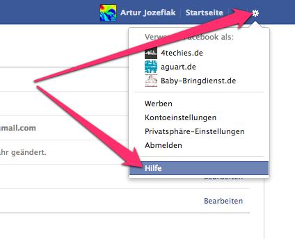 facebookKontoLoeschen01