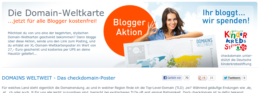 Screenshot von checkdomain.de vom 18.04.2013