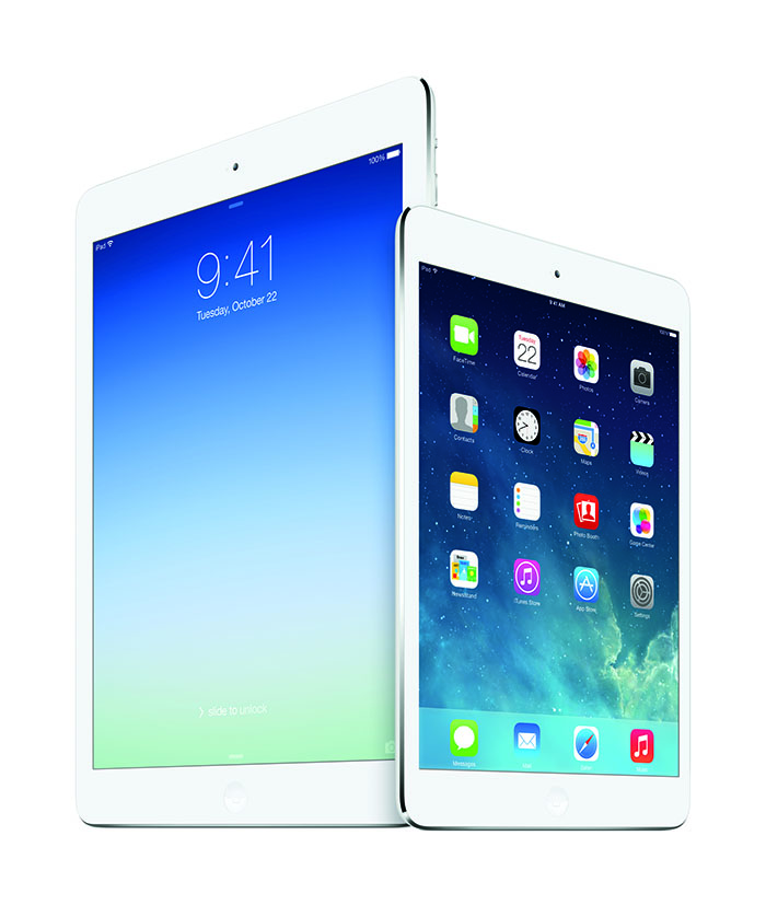 iPad Air - Bild von Apple Presseinformationen