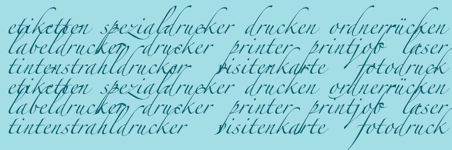 Keywords zum Thema Drucken und Drucker